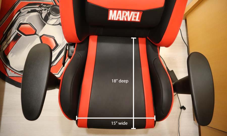 Anda Seat Ant Man and Jungle seat dimensions