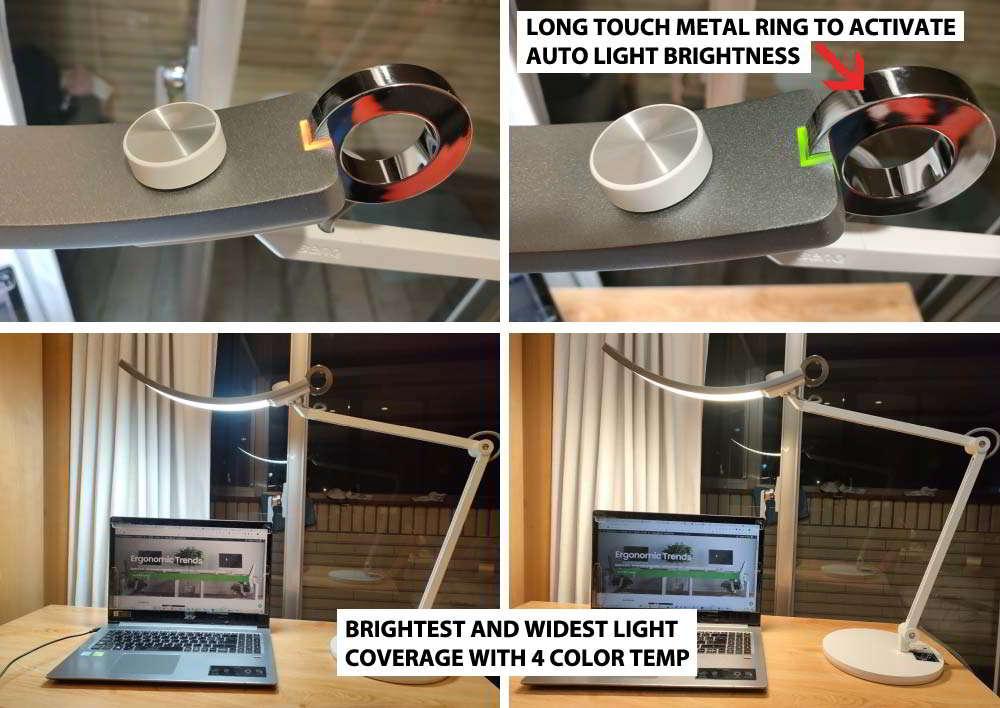 BenQ LED Desk Lamp Automatic Brightness Control