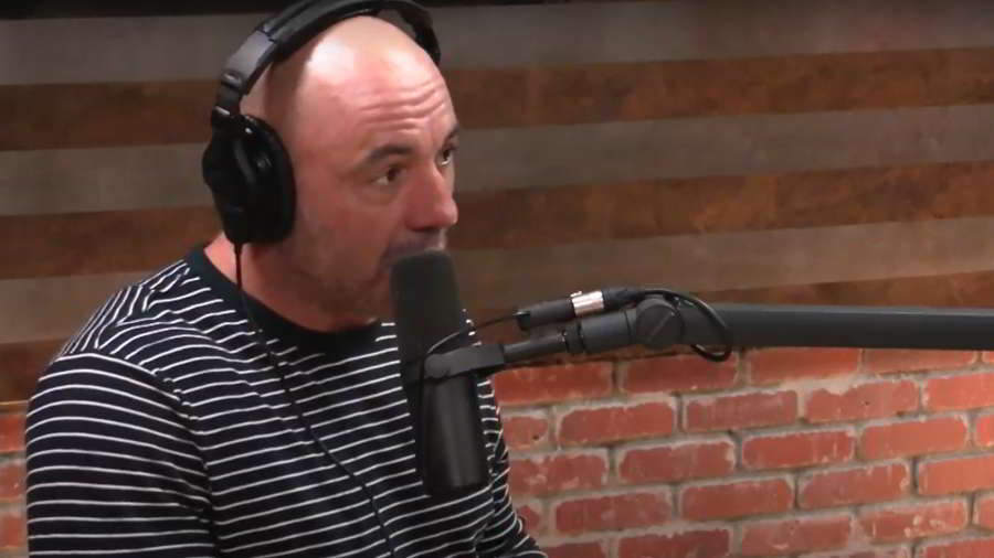 Joe Rogan talking about his back pain and the chair he uses to find relief