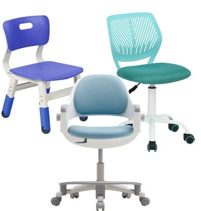 Adjustable children chairs