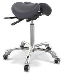 split saddle seat design
